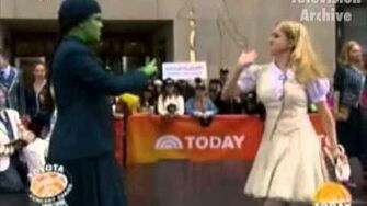 What is this Feeling - Lindsay Mendez & Alli Mauzey - Wicked 10th Anniversary (Today Show 10-30-13)-0
