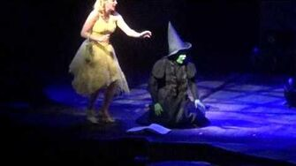 Wicked Broadway Defying Gravity Christine Dwyer Jenni Barber Video-1
