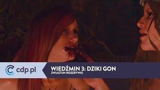 Wiedźmin 3 Dziki Gon - zwiastun z rozgrywki PL - zobacz więcej w cdp.pl