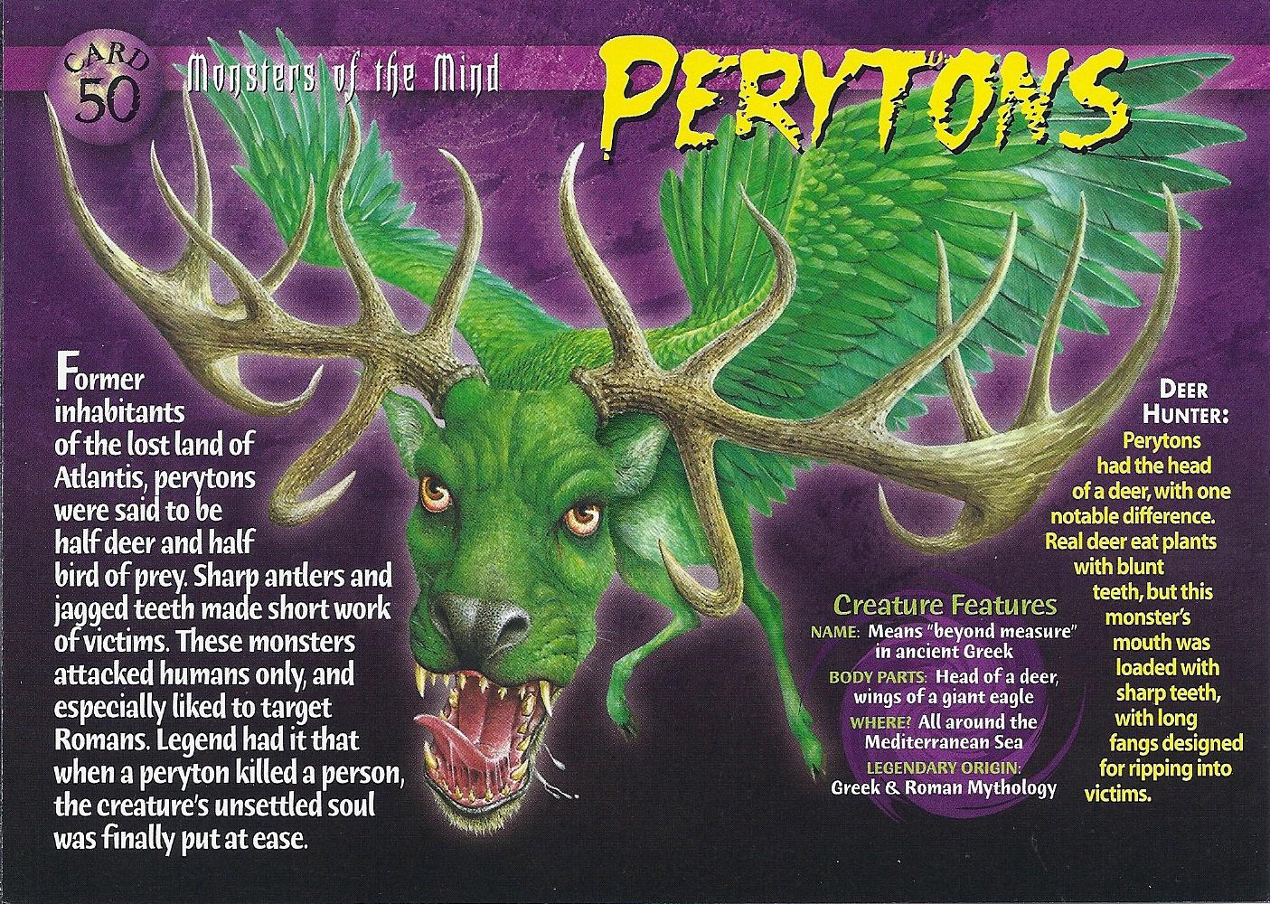 Perytons on Beetle Mania