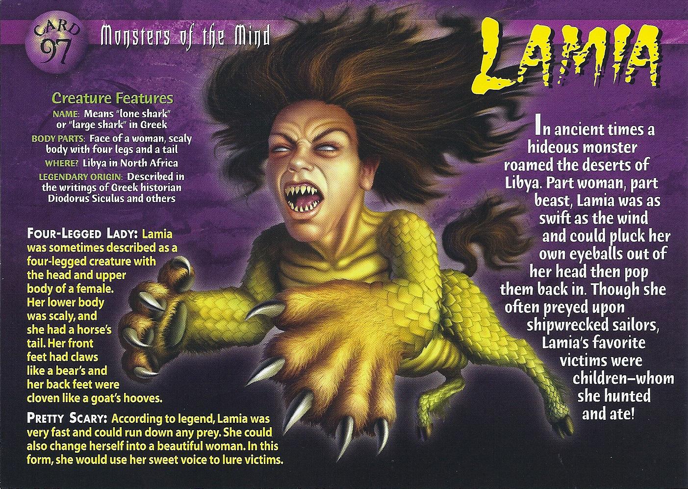 lamia wierd n u0027wild creatures wiki fandom powered by wikia