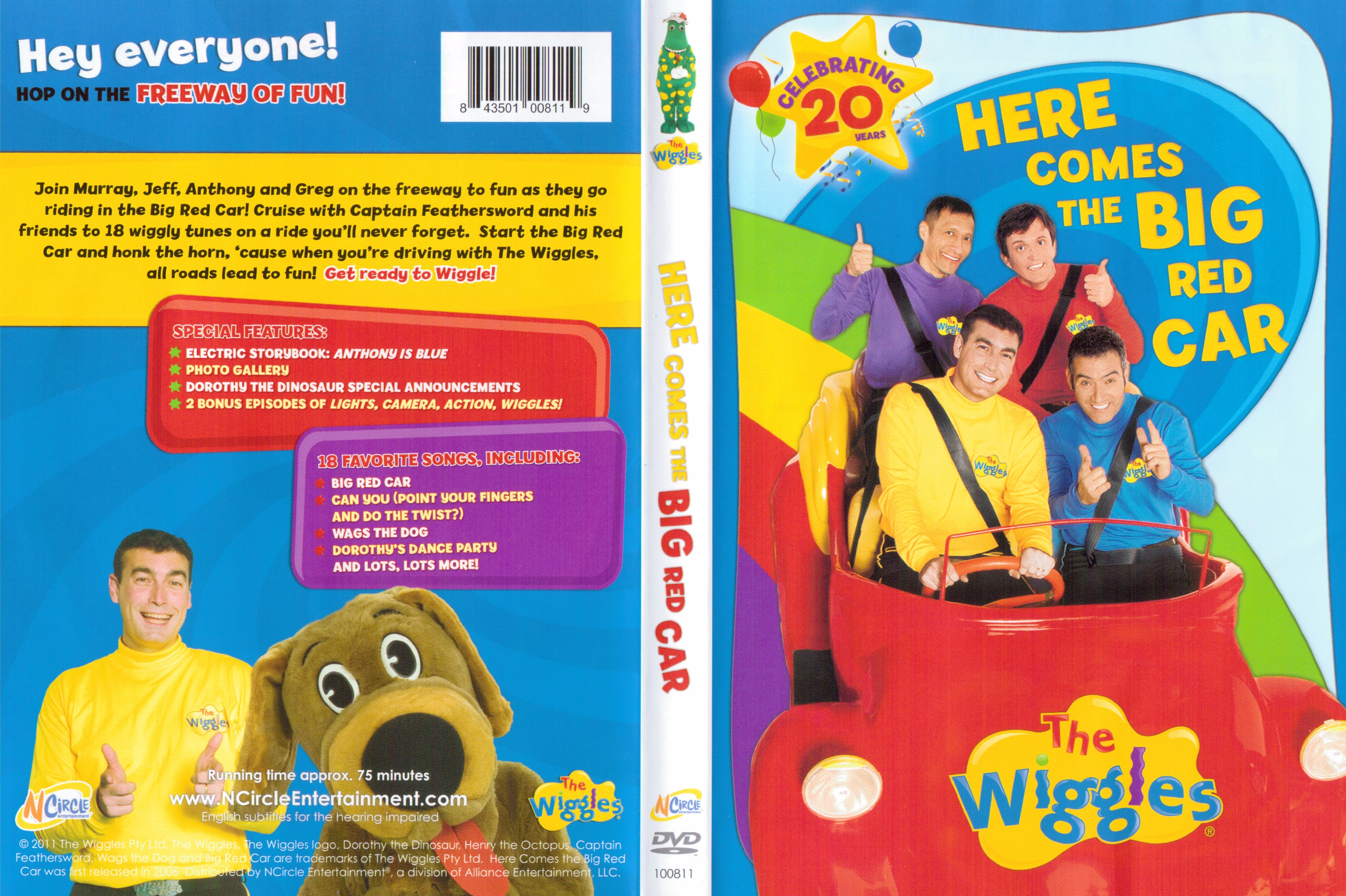 The Wiggles Wiggle Time Cd 13168 | NETBUTTON