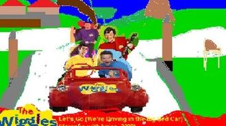 The Wiggles - Let's Go! (We're Driving in the Big Red Car) (Karaoke with lyrics, 2000)