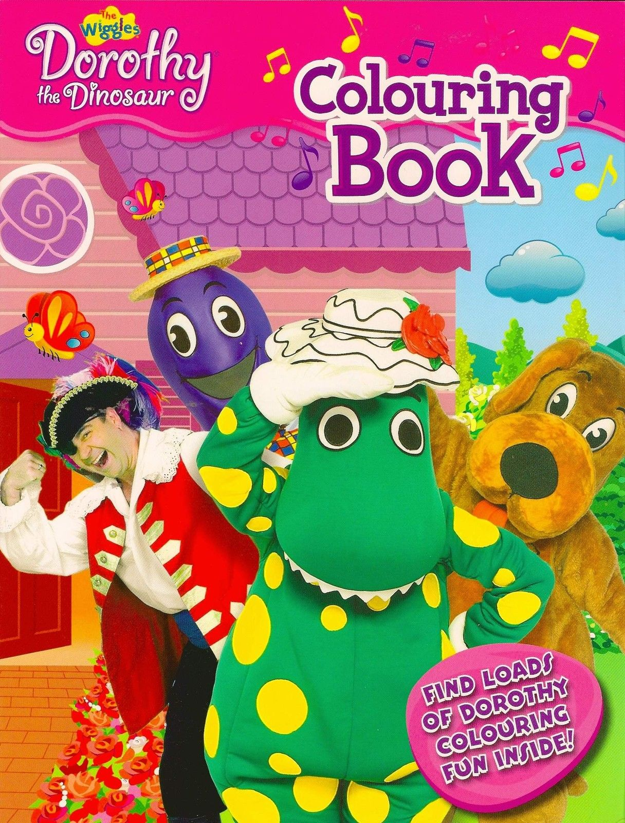 dorothy the dinosaur colouring fun book wigglepedia fandom