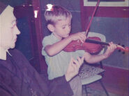 AnthonyPlayingtheViolin