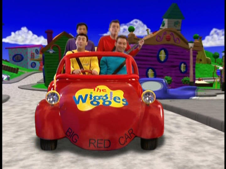 the wiggles games big red car