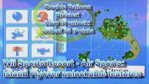Wii Sport Resort Cheats Island Flyover Points List