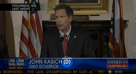 John Kasich filthy Democrat