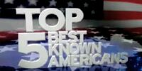 Top 5 Best Known Americans