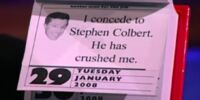 Stephen Colbert Quote A Day Campaign Desk Calendar