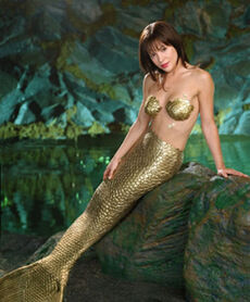 Mermaid Alyssa Milano