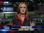 Daily Show.Samantha Bee Senior Money Honey.20081027