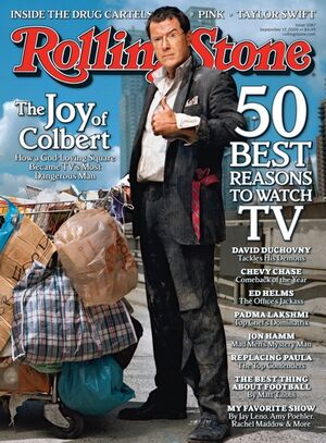 StephenColbert RollingStone2009 cover