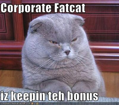 Funny-pictures-corporate-fat-cat-is-keeping-the-bonus