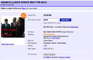 Obama senate seat for sale