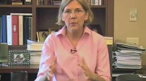 Professor Elizabeth Warren speaks about the Consumer Financial Protection Agency