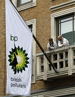 Bp greenpeace takeover
