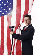 Stephen Colbert National hero