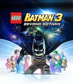 Lego Batman 3 - Beyond Gotham cover