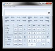 Windows Calculator Programmer Mode