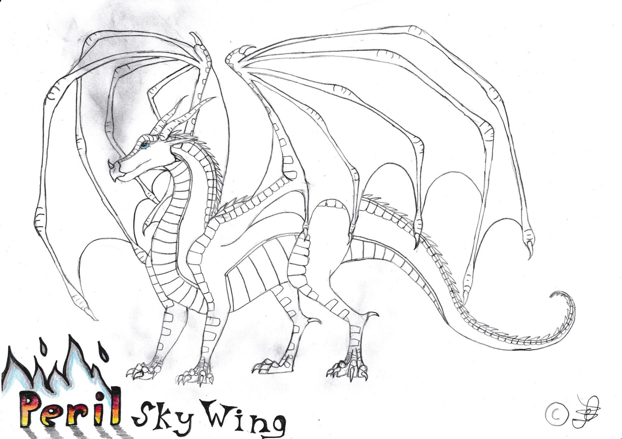 wings of fire coloring page - user blog ylime moop wings of fire ylimeart wings of