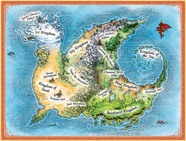 Kingdoms Of Pyrrhia Wings Of Fire Wiki Fandom Powered