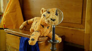 Tigger a stuffed toy Tiger