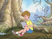 Christopher Robin - Writing a Letter