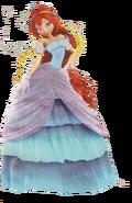 Bloom Domino Gown (Artwork)