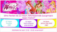 Winx Club - April 23 Activity (Turkey)