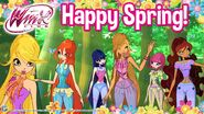 Winx Club - Happy Spring Facebook