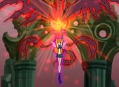 ~Dark Bloom Summons Shadow Phoenix~