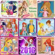 Winx Club 2016 best nine on Instagram - Instagram - 20-12-2016