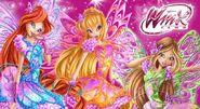 Bloom, Stella & Flora Butterflix 3D - Winx Music Show (Russia)