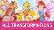 Winx Club - All Winx Full Transformations