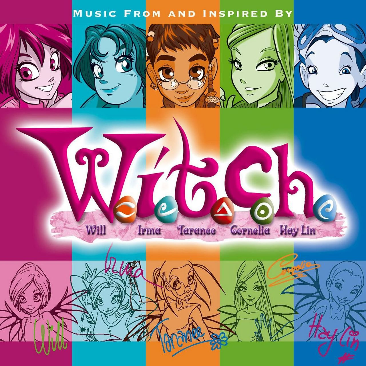 Music From And Inspired By W I T C H W I T C H Wiki