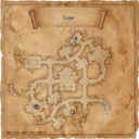 Map Lionhead spider cult crypt