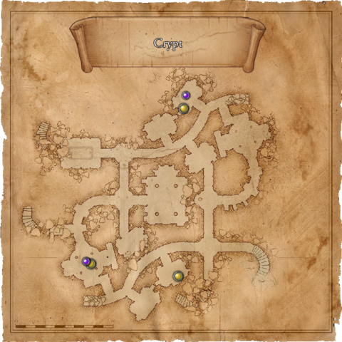 Map of the Lionhead Spider cultists' lair