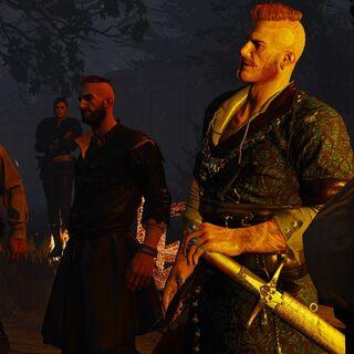 Ataman Olgierd and his companions.