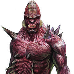 The greater mutant was designed to be a barbaric brute