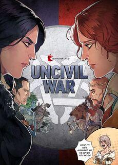 Tw comics Uncivil War