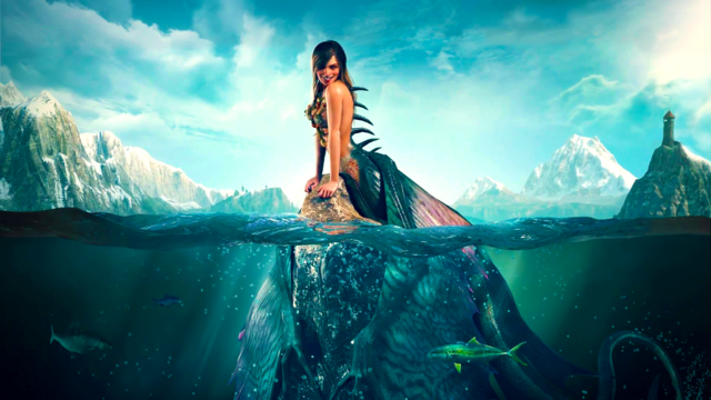 File:The Witcher 3, Wild Hunt, Siren concept art, spliced.png