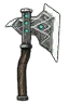 Weapons Mount carbon rune axe