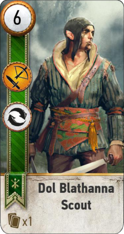 File:Tw3 gwent card face Dol Blathanna Scout 2.png