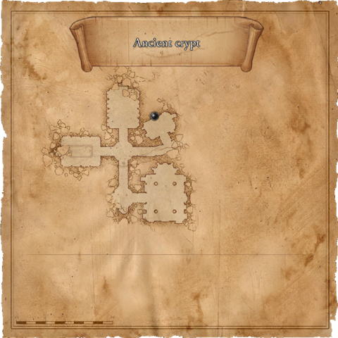 Map of Agnes' lair