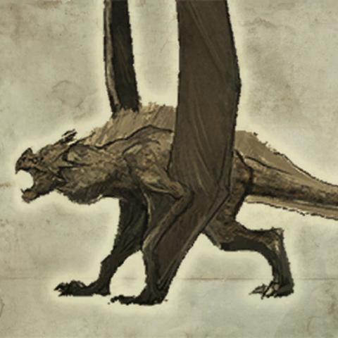 The Witcher Adventure Game Nidhogg concept art