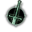 Game Icon Use steel sword unlit
