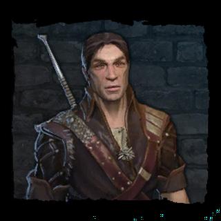 Eskel, before his disfigurement.