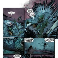 First issue, page 5.