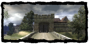 Kupecká brána, od Podhradí